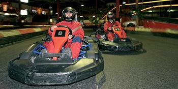 Een van de snelste indoor kartbaan
