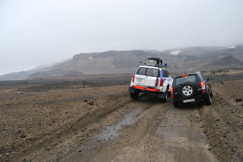 Terreinrijden 4x4 Ijsland auto's
