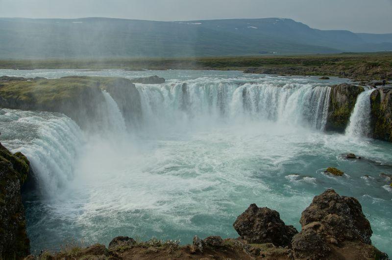 Terreinrijden Ijsland waterval