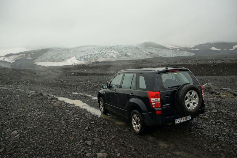 Terreinrijden 4x4 Ijsland vulkaan