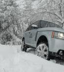 Offroadcursus in de sneeuw