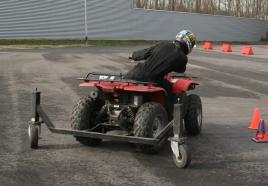 Leer driften op quads in dit avontuurlijk uitje