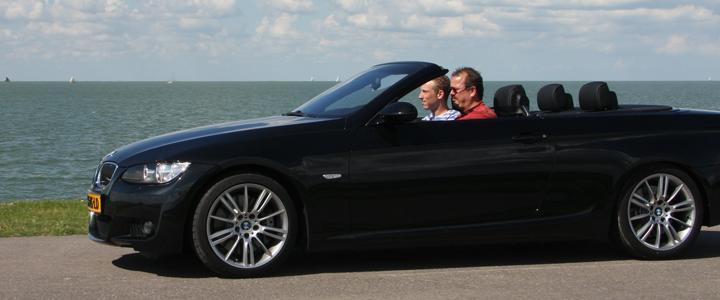 BMW 335i rijden