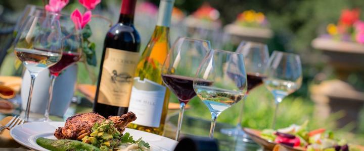 Wijnproeverij en culinaire heerlijkheden van de bbq