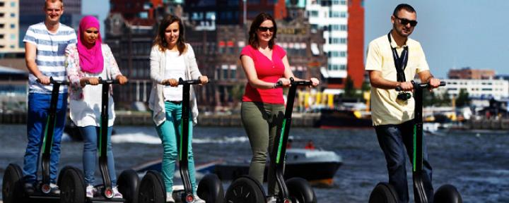 Bedrijfsuitje: Segway door Rotterdam
