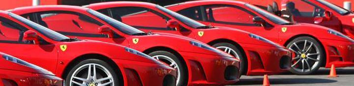 Bedrijfsuitje Ferrari rijden