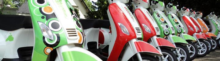 Bedrijfsuitje Scooterrijden