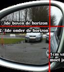 Stoel en spiegelafstelling
