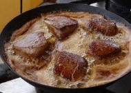 Biefstuk bakken