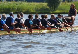 Ideaal voor teambuilding: Drakenboot varen