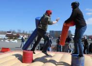 Jackass Gladiator gevecht