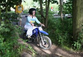 behendig racen op onze snelle Minibikes!
