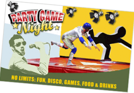 Party Games Night op locatie