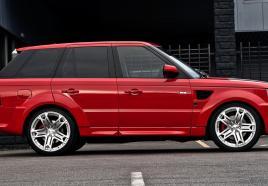 Range Rover Sport V8 rijden
