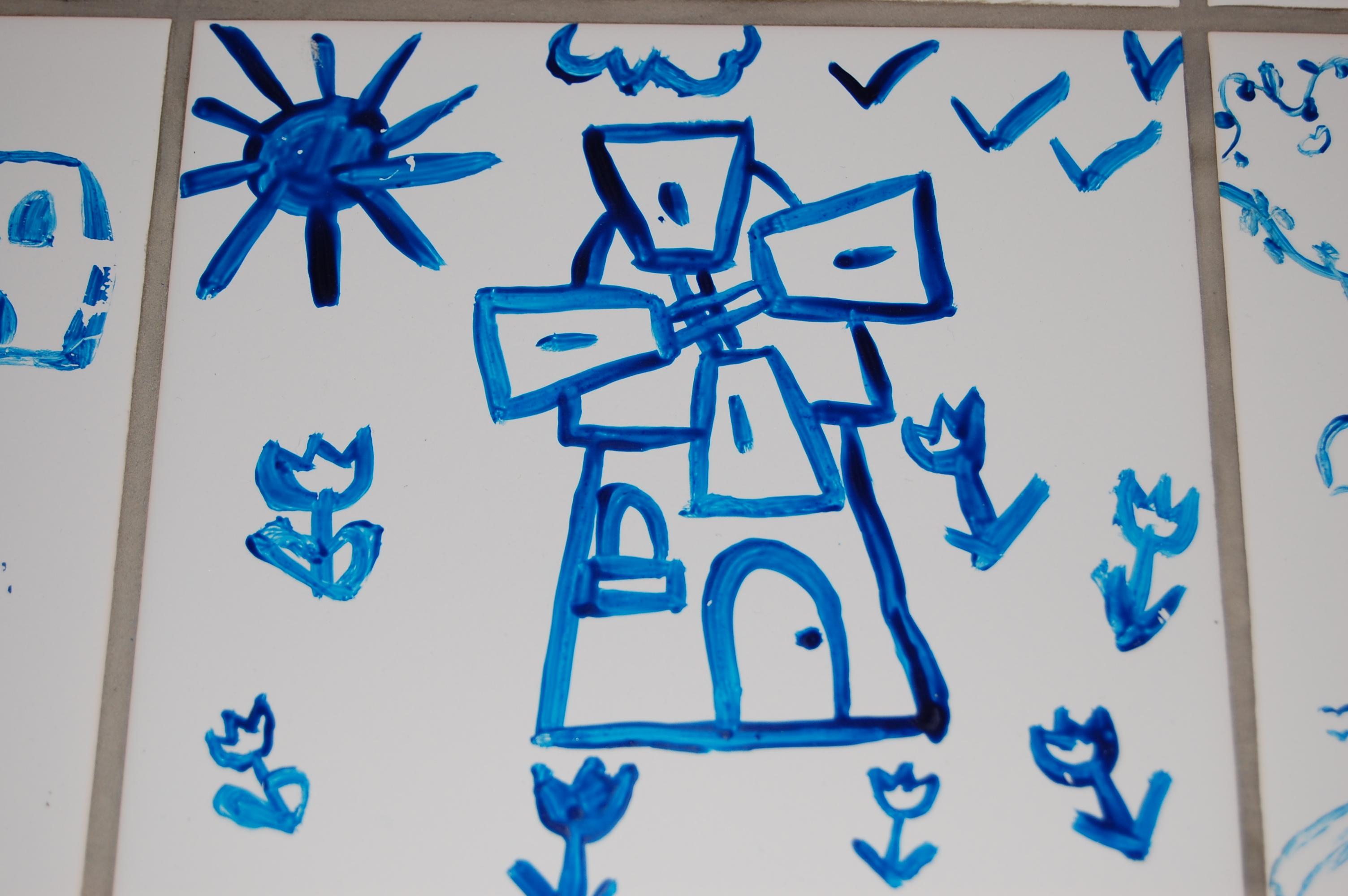 Vrijgezellenfeest Delfts Blauw Schilderen Vvc