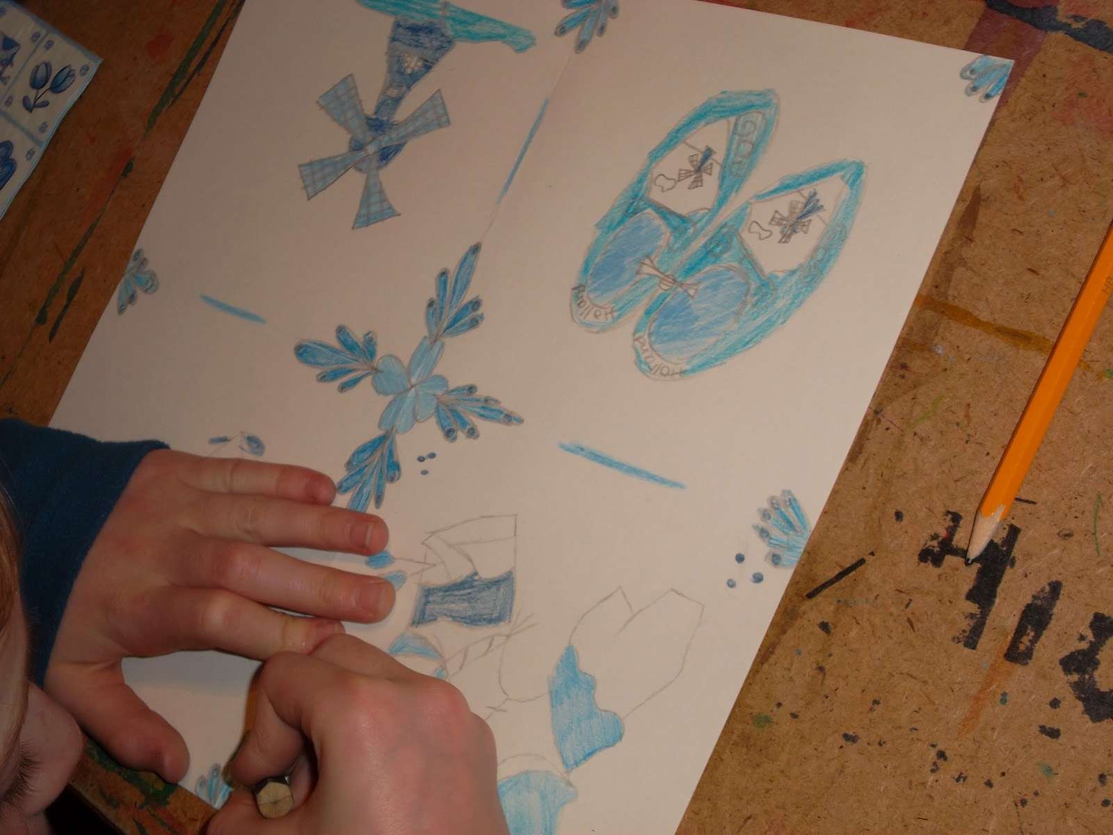 Delfts Blauwe Tegels : Vrijgezellenfeest delfts blauw schilderen vvc